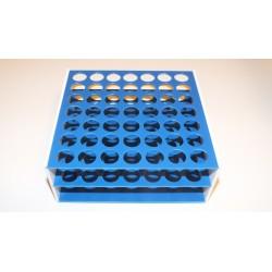 Laboratorní stojánek na 49 zkumavek LS1749