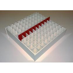 Laboratorní box pro 100 zkumavek LB18100