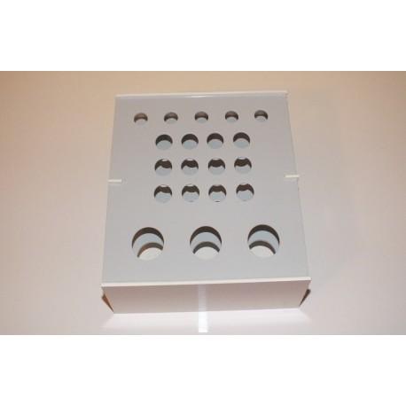 Atypický kombinovaný laboratorní stojánek pro 20 zkumavek AS20