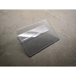 Jmenovka na lůžko, transparentní JC95130