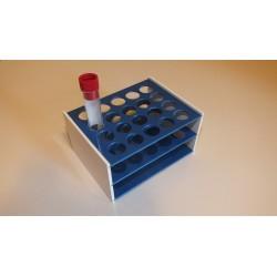 Laboratorní stojánek na 20 zkumavek LS1720.1