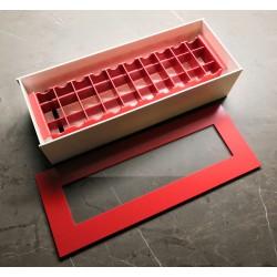 Vlhká komora, pro 10 mikroskopických sklíček VK10