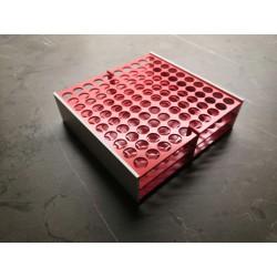 Laboratorní stojánek na 100 zkumavek LS13100.3