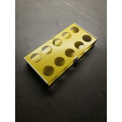 Atypický laboratorní stojánek snížený pro 10 zkumavek AS3010N