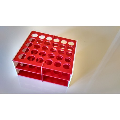 Laboratorní stojánek na 30 zkumavek LS1730.1