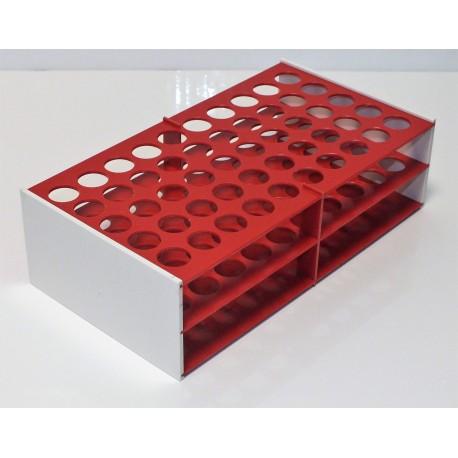 AKCE - Laboratorní stojánek na 50 zkumavek LS1750