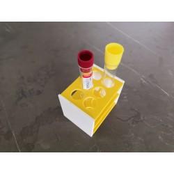 AKCE - Laboratorní stojánek na 6 zkumavek LS1706
