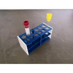 AKCE - Laboratorní stojánek na 12 zkumavek LS1712