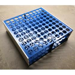 AKCE - Laboratorní stojánek na 100 zkumavek LS17100