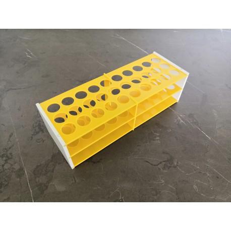 Laboratorní stojánek na 30 zkumavek LS1730
