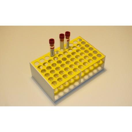 Laboratorní stojánek na 60 zkumavek LS1760