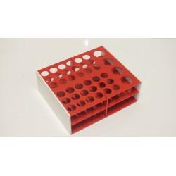 Atypický kombinovaný laboratorní stojánek na 40 zkumavek AS1740B