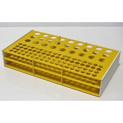 Atypický kombinovaný laboratorní stojánek pro 99 zkumavek AS17271372