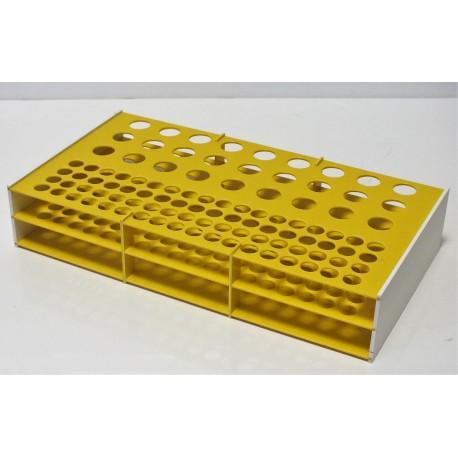 Atypický kombinovaný laboratorní stojánek na zakázku, pro 99 zkumavek Z17271372